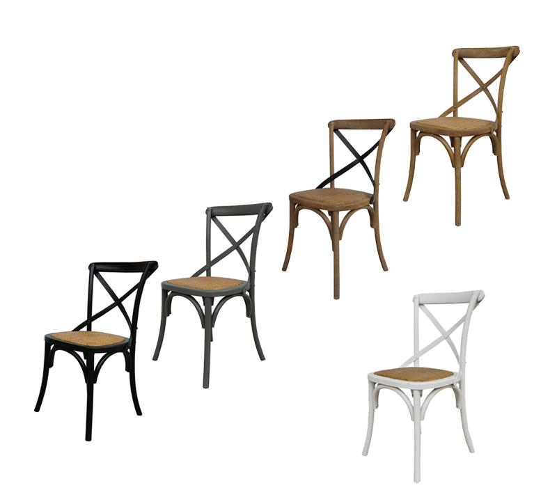 כסא מעוצב דגם קיאני ביתילי עשוי עץ בוקיצה בשילוב מושב ראטן במגוון צבעים לבחירה - משלוח חינם - תמונה 6
