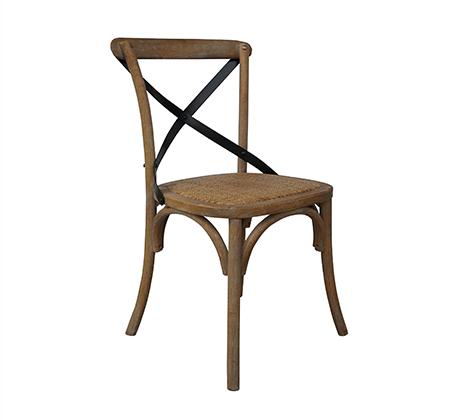 כסא מעוצב דגם קיאני ביתילי עשוי עץ בוקיצה בשילוב מושב ראטן במגוון צבעים לבחירה - משלוח חינם - תמונה 5