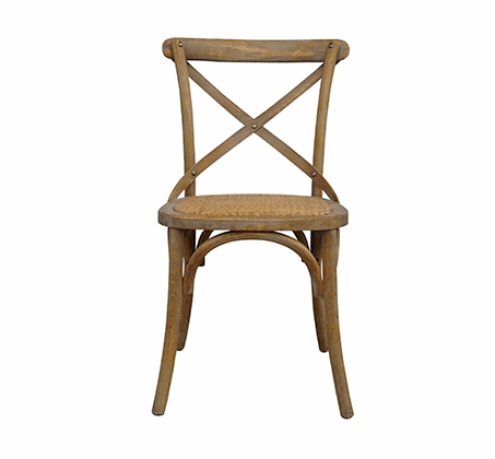 כסא מעוצב דגם קיאני ביתילי עשוי עץ בוקיצה בשילוב מושב ראטן במגוון צבעים לבחירה - משלוח חינם - תמונה 2