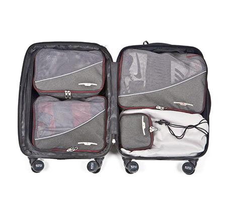 סט חמישה תיקי אריזה למזוודה + משקל דיגיטלי