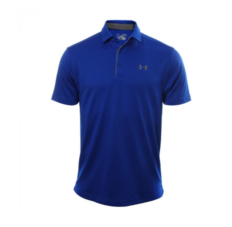 חולצת פולו Under Armour SS18 Tech Polo-RYL/GPH/GPH - כחול