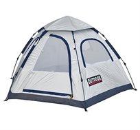 אוהל איגלו בן רגע עם מנגנון פתיחה מהירה ללא צורך בהשחלת המוטות ובבנייתם OUTDOOR REVOLUTION