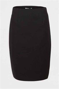 חצאית טיוב צמודה MORGAN - שחור