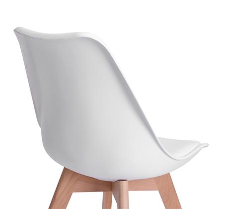 זוג כיסאות מרופדים דמוי עור לשימוש בבית ובמשרד דגם פרנקפורט Homax - תמונה 7