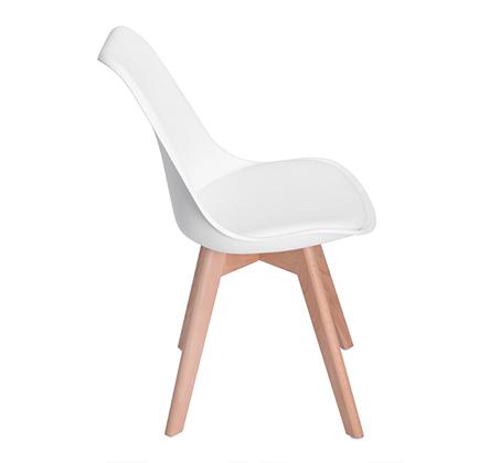 זוג כיסאות מרופדים דמוי עור לשימוש בבית ובמשרד דגם פרנקפורט Homax - תמונה 6
