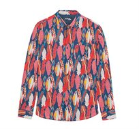 חולצה מכופתרת צבעונית Desigual ATWOOD לגברים