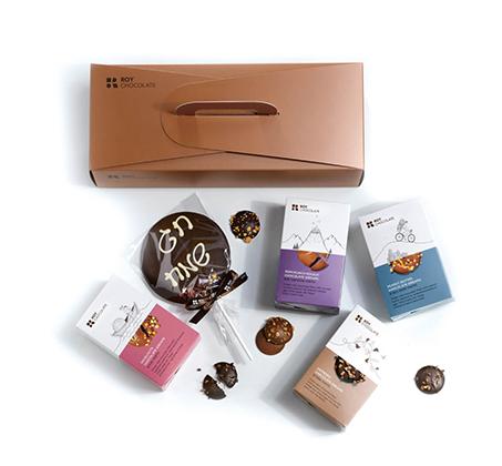 מארז מזוודה לחג מושלם Roy Chocolate