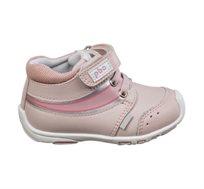 נעלי צעד ראשון לבנות דגם אנדי מעבר בצבע ורוד