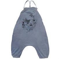 אוברול No Biggie לתינוקות (מידות 12 חודשים-8 שנים) כחול