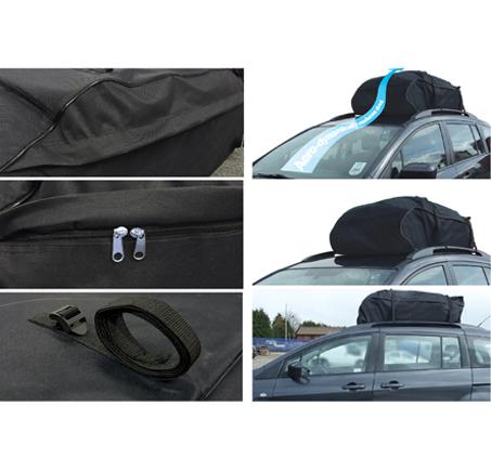 תיק לגג של הרכב בקיבולת 425 ליטר לטיולים בשטח, בעיצוב אווירודינמי - משלוח חינם - תמונה 2