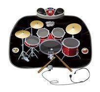 מערכת תופים וקריוקי לילדים - לפיתוח יכולות מוזיקליות