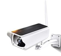 מצלמת אבטחה אלחוטית IP המופעלת באמצעות אנרגיה סולארית