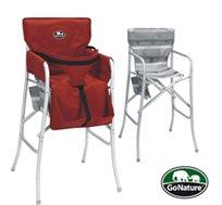 כיסא תינוק מתקפל מבית Go Nature, קל משקל ומתאים במיוחד לטיולי קמפינג, טיולי ג'יפים, לחצר, לחוף ועוד