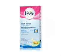 מארז 3 יחידות רצועות שעווה ויט לעור רגיש מוכנות לשימוש Veet