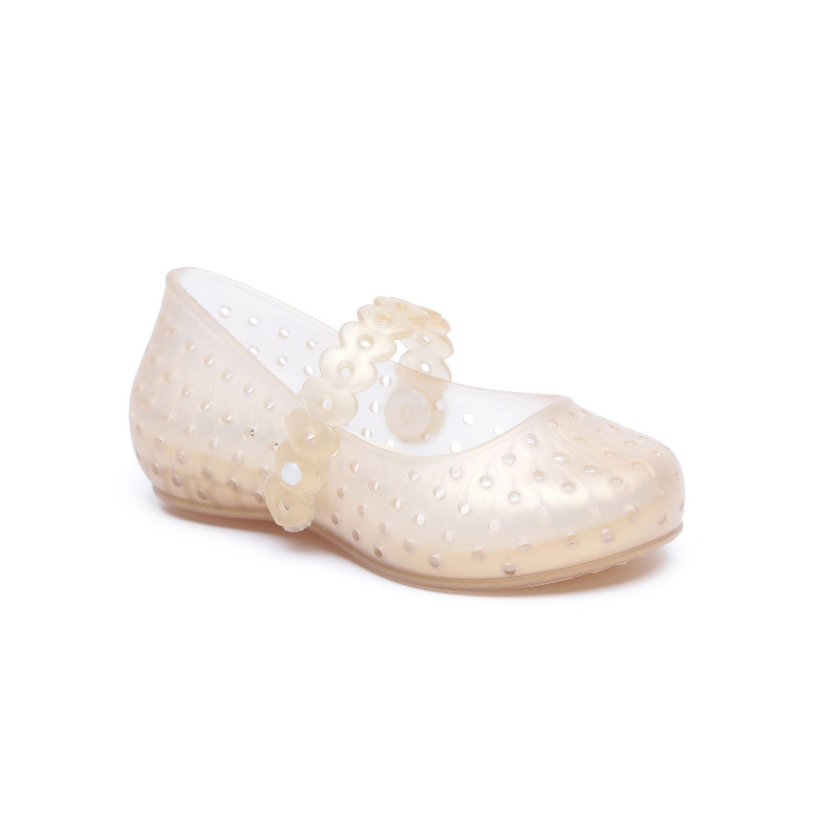 Candy - נעלי בובה אווריריות בצבע זהב