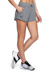 מכנסי ספורט UNDER ARMOUR דגם 1305539-035 פרנץ טרי לאישה בצבע אפור בהיר