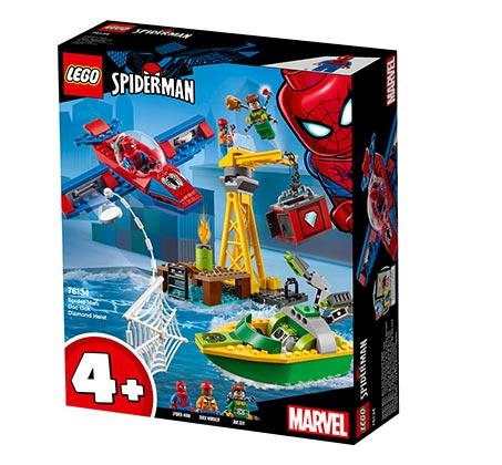 לגו יהלומים ספיידרמן LEGO