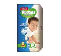 זוג חבילות חיתולים Huggies Freedom Dry להגנה על עור התינוק