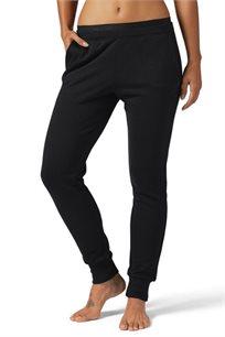 מכנסי טרנינג לנשים REEBOK דגם BS3871 בצבע שחור