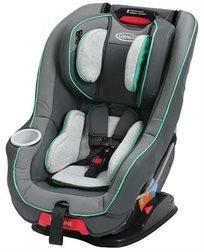 כסא בטיחות Size4Me 65 - אפור/פס ירוק Isaac