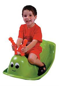 הילדים נהנים יותר! נדנדה עשויה מפלסטיק איכותי, עמידה גם לתנאי חוץ ובעלת תקן אירופאי