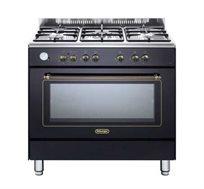 """תנור משולב כיריים 90 ס""""מ 5 להבות Delonghi דגם NDS951"""