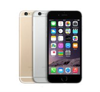 "אייפון 6 תומך דור 4, בנפח 16GB, מסך רחב 4.7"" אלכסוני, מצלמה 8MP ומעבד A8"