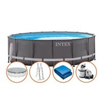 בריכת INTEX אולטרה 488X122 דגם 26324 - משלוח חינם