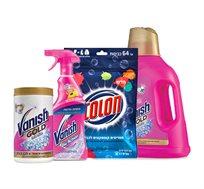 ערכת חומרי ניקוי וניש וקולון לכביסה