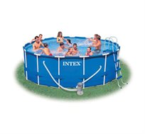 בריכה עגולה לגינה INTEX 457X107