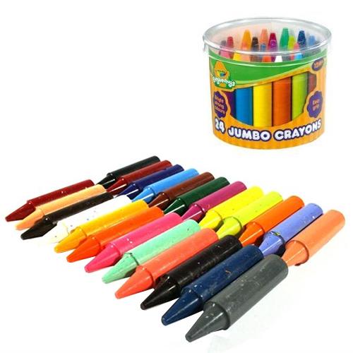 חבילת 24 צבעי ג'מבו בכוס לתינוקות Crayola