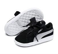 נעלי סניקרס Puma Vikky Ribbon AC Inf לילדות בצבע שחור