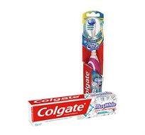 מארז 5 יחידות משחת שיניים מקס וויט ומברשת שיניים חשמלית קולגייט