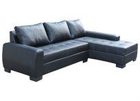 מערכת ישיבה עשויה דמוי עור איכותי עם כריות גב דגם סנטה ברברה OR design