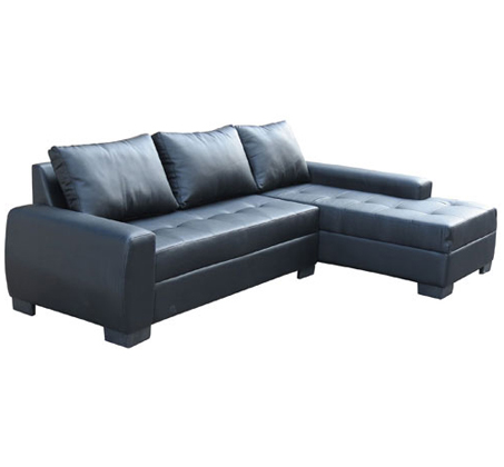 מערכת ישיבה עשויה דמוי עור איכותי עם כריות גב Or Design דגם סנטה ברברה  - תמונה 2