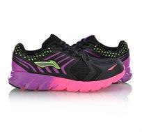 נעלי ריצה לנשים Li Ning Arc Element Running Shoes בצבעי שחור/סגול