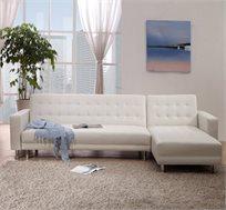 ספה פינתית מודולרית נפתחת למיטת אירוח דגם LOREN