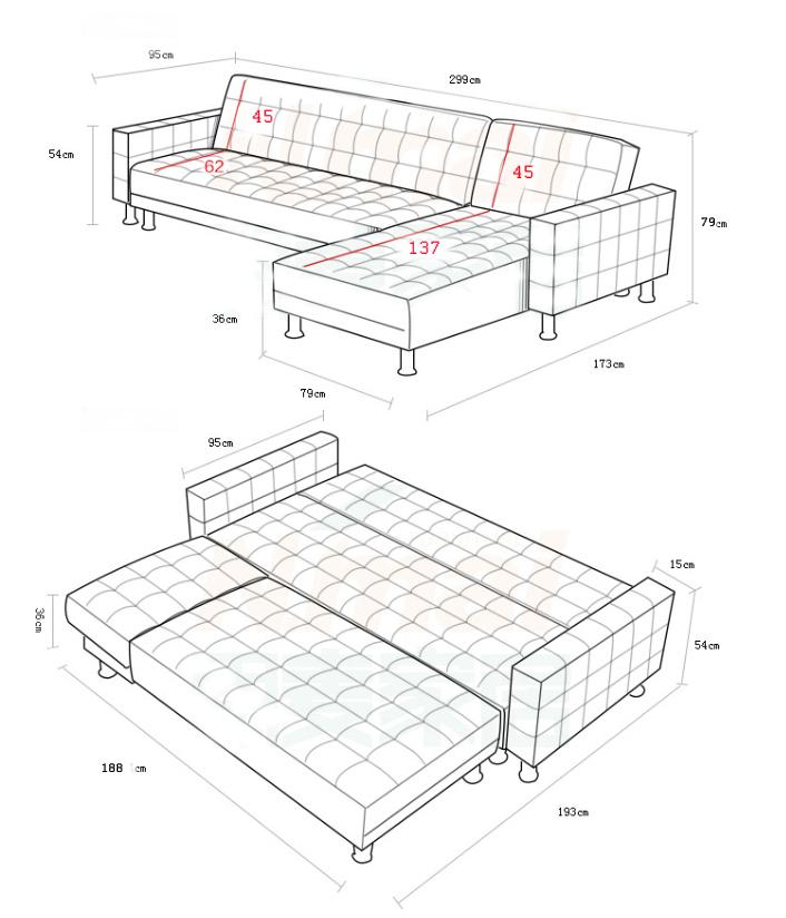 מערכת ישיבה מודולרית עם שזלונג בעיצוב אלגנטי הניתן לשינוי והתאמה SIRS דגם לורן - תמונה 7