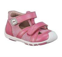 נעלי פעוטות צעד ראשון Papaya דגם לורי קנבס בצבע פוקסיה