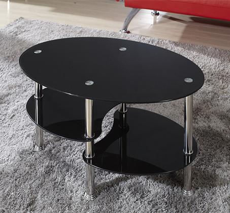 שולחן לסלון עם זכוכית מחוסמת