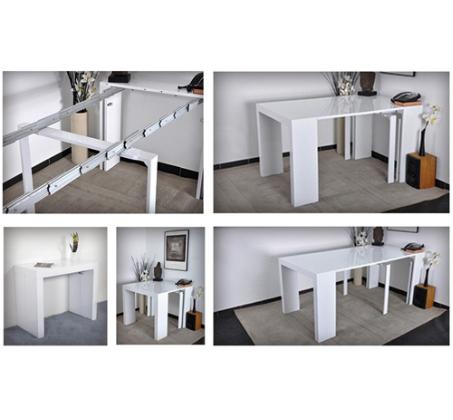 שולחן מודולרי נפתח ל-3 מטרים המותאם ל-12 סועדים מבית BRADEX - תמונה 5