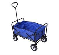 """עגלת קמפינג בעלת גלגלים וידית משיכה, קלת משקל המאפשרת נשיאה של חפצים עד 70 ק""""ג"""