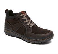 נעלי גברים איכותיות ונוחות Rockport דגם Activflex Rcspt Lthr Boot Dk Choc