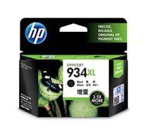 ראש דיו מקורי HP 934XL צבע שחור, דיו איכותי למדפסת
