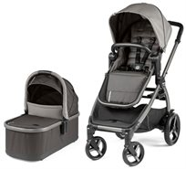 סט עגלת תינוק דו-כיוונית Ypsi צבע Class Grey