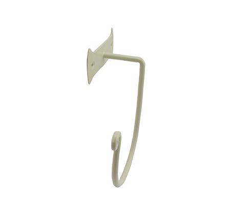 מתלה מגבות דגם טבעת בצבע שמנת NADIR - תמונה 2
