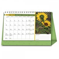 לוח שנה שולחני 2019–20 פרחים