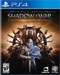 Middle Earth : Shadow Of War  Ps4 אירופאי!