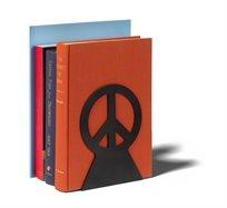 """תומך ספרים """"שלום"""" - שחור- סט של 2"""