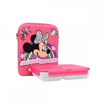 סט קופסאות אוכל Minnie Mouse